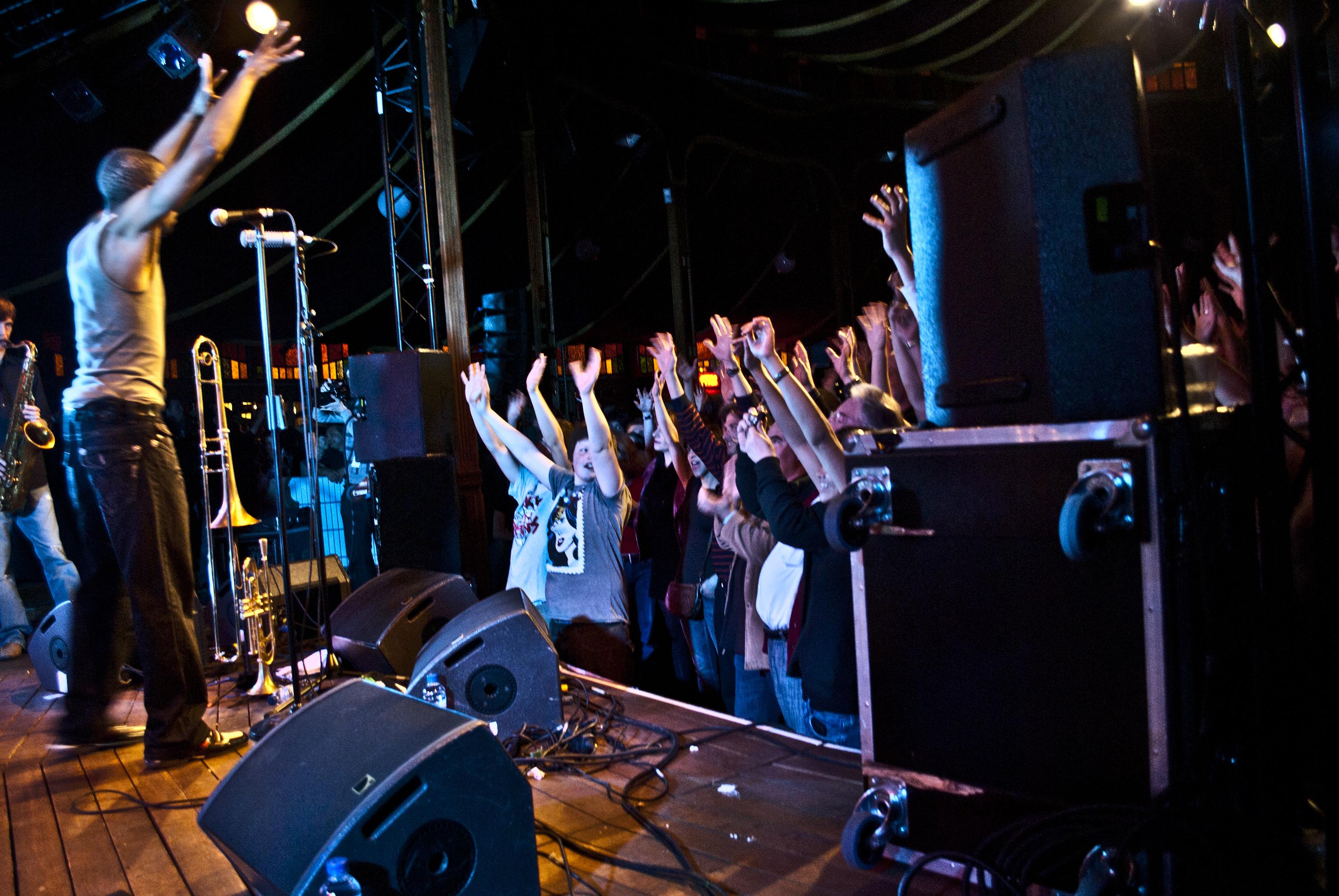 Festival Banlieues Bleues%252C ambiance concert%252C Seine Saint-Denis 2011. I. Bagayoko