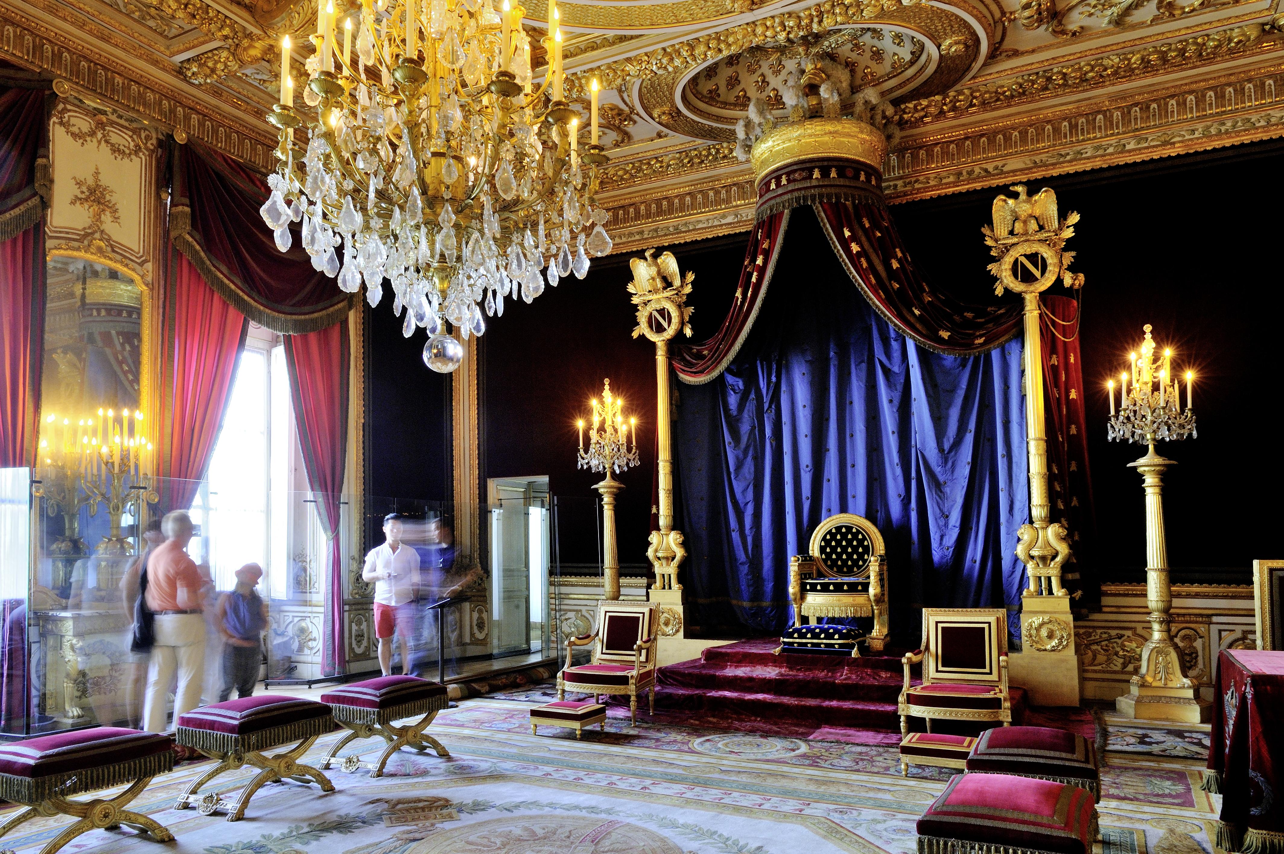 Château de Fontainebleau%252C Les Grands Appartements%252C La Salle du Trône. Jarry-Tripelon %252F CRT Paris Ile-de-France