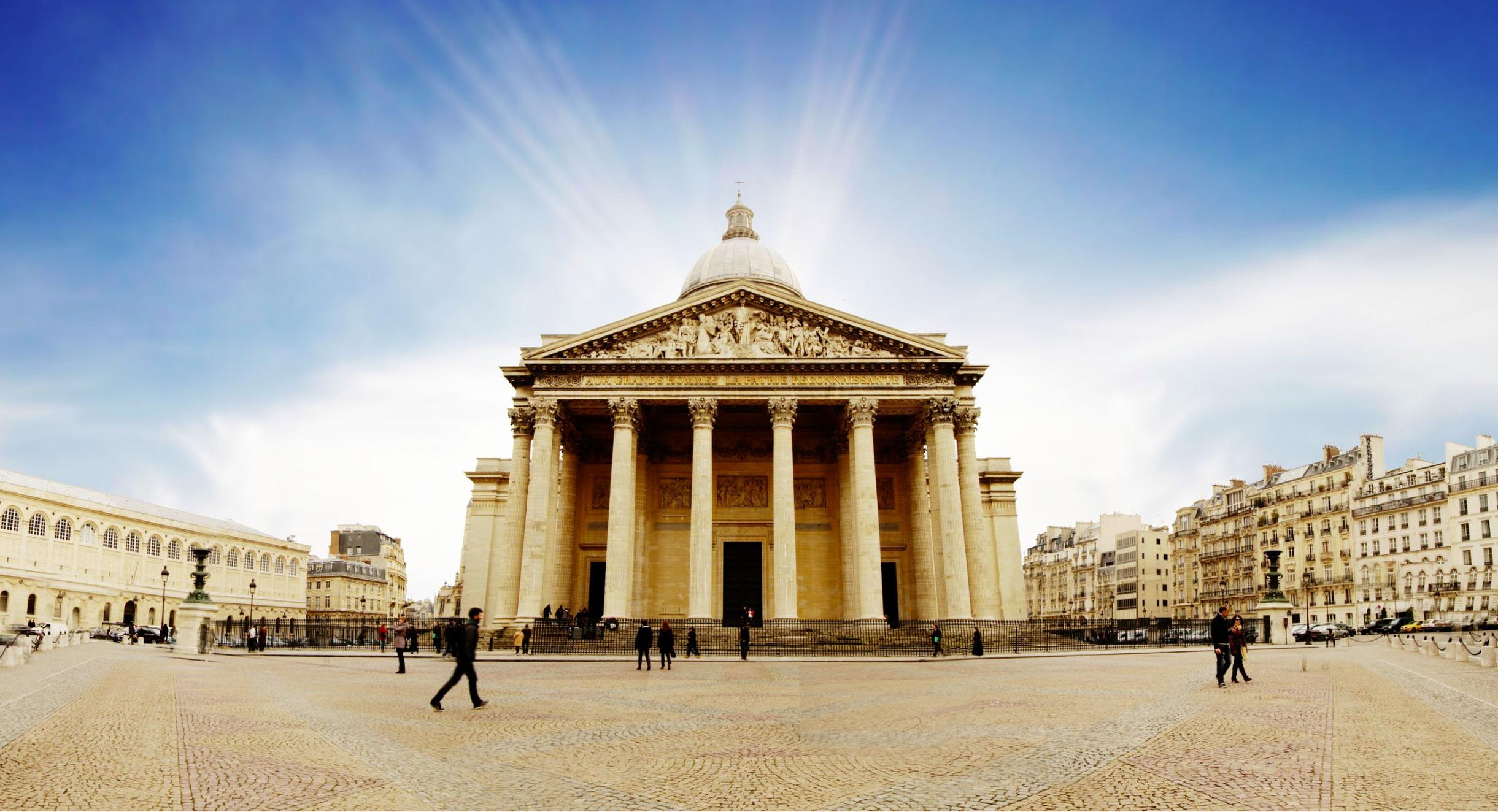 Panthéon%252C façade occidentale Guillaume de Roquemaurel %252F Centre des monuments nationaux