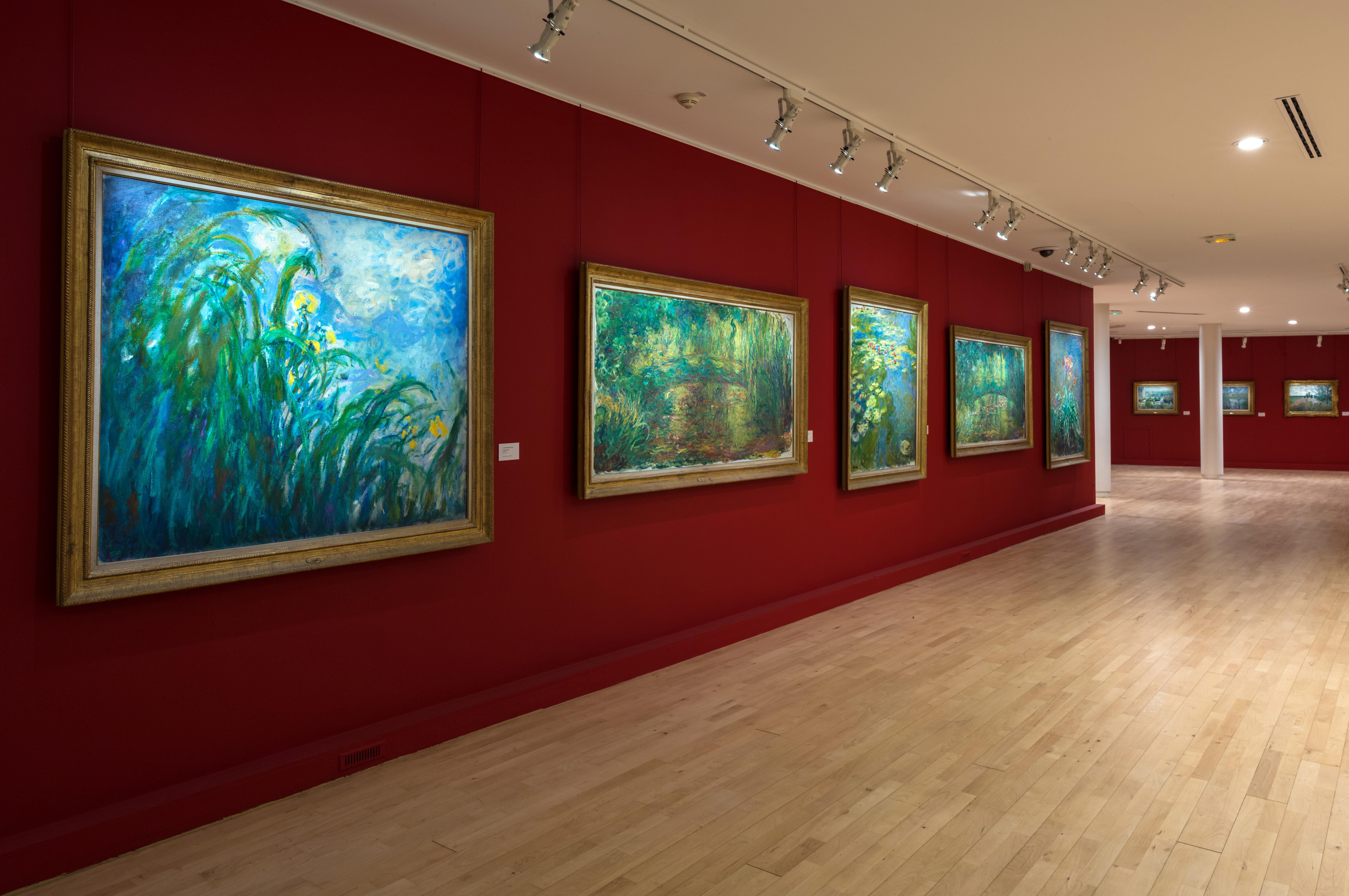 Musée Marmottan Monet Musée d'Orsay%252C Salle des Impressionnistes%252C Paris 2015.