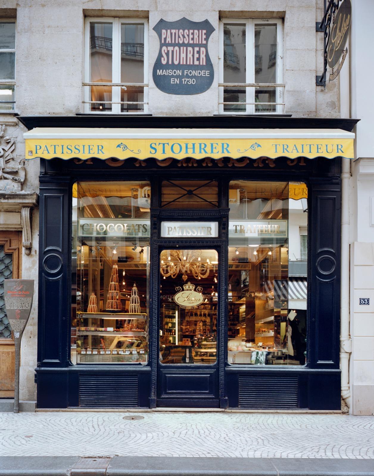 Pâtisserie Stohrer depuis 1730 Puits d'amour