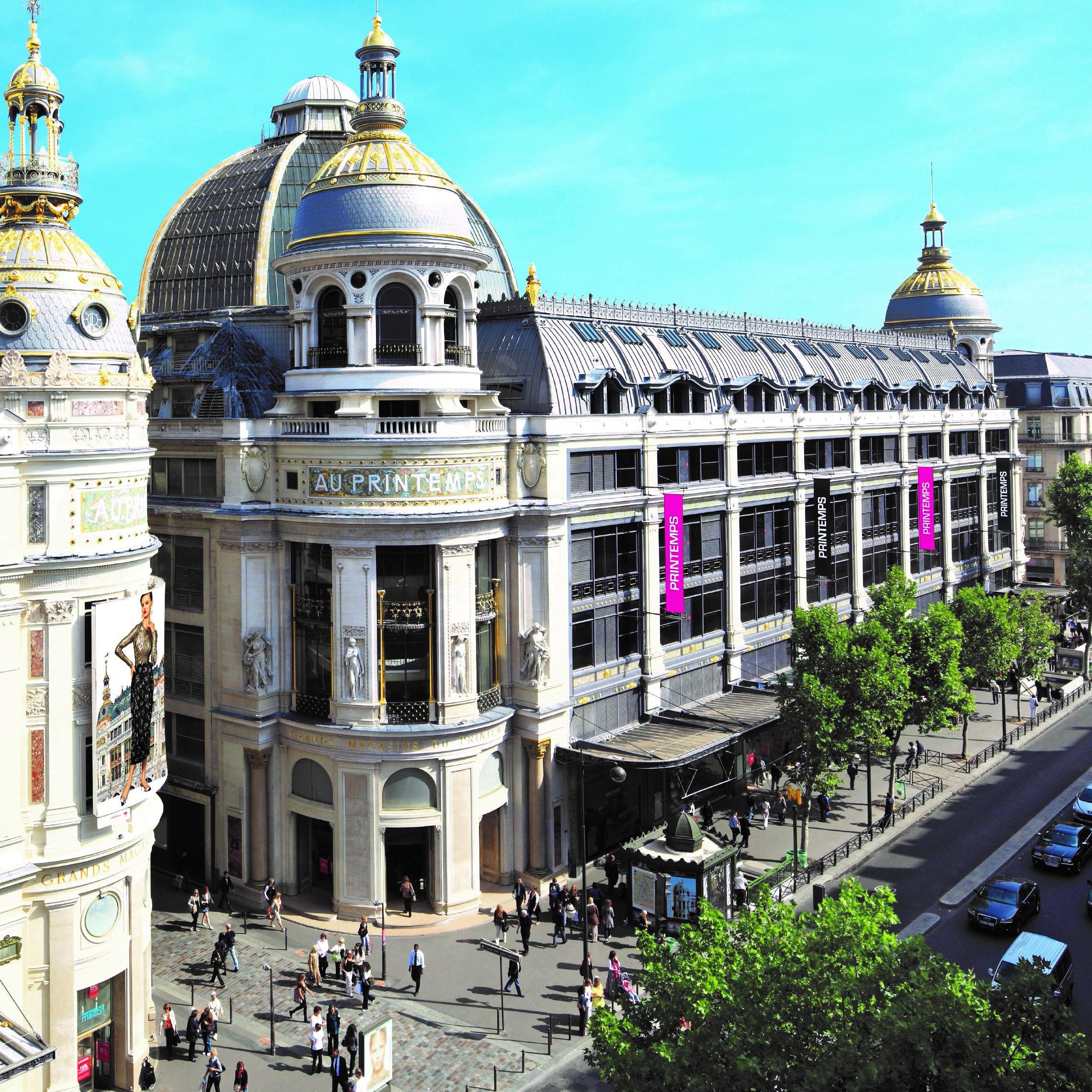 Le Printemps Haussmann%252C façade%252C Paris. Le Printemps Haussmann 2017