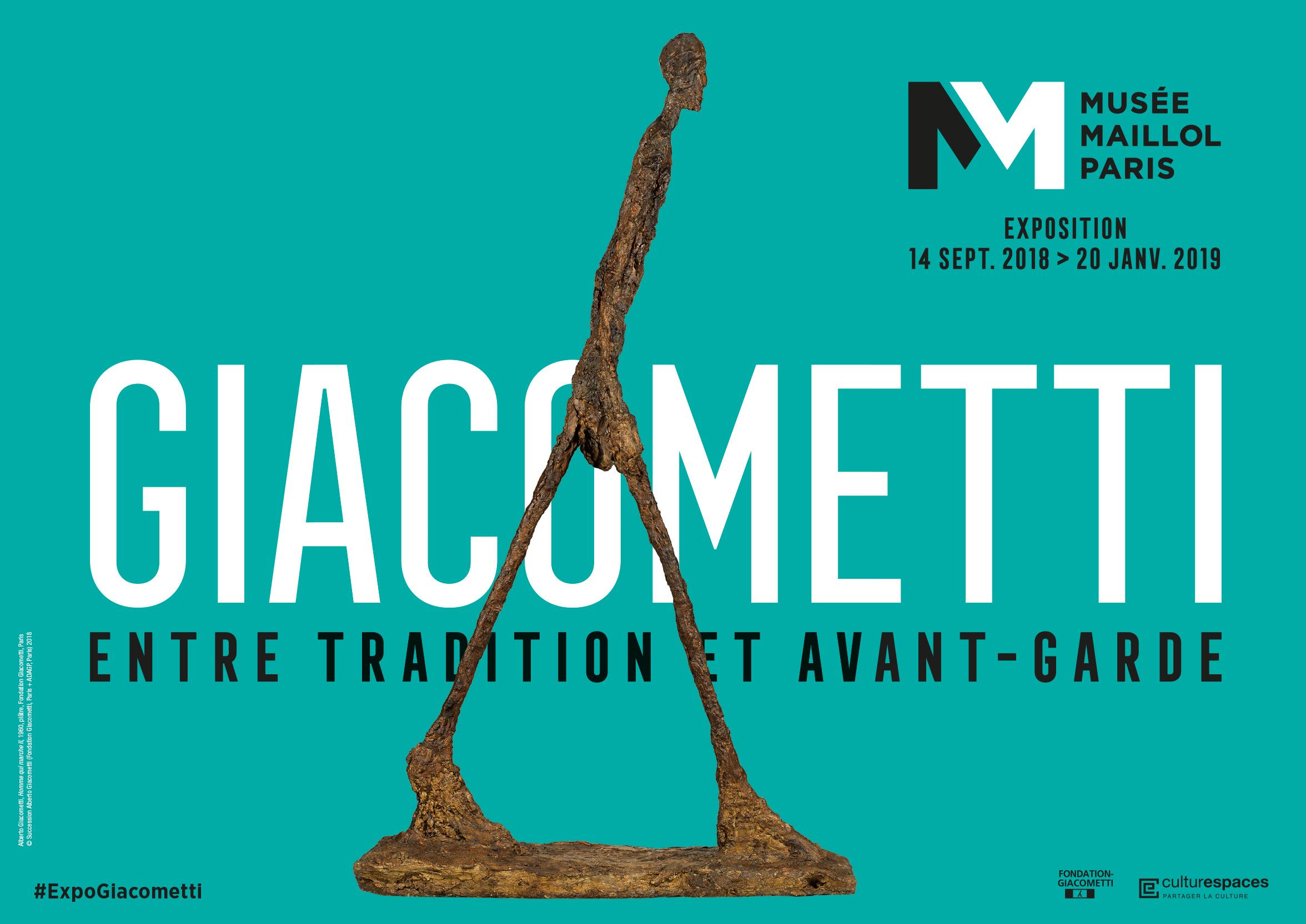 Alberto Giacometti%252C Homme qui marche II%252C 1960%252C plâtre%252C Fondation Giacometti%252C Paris Succession Alberto Giacometti (Fondation Giacometti%252C Paris + ADAGP%252C Paris)%252C 2018