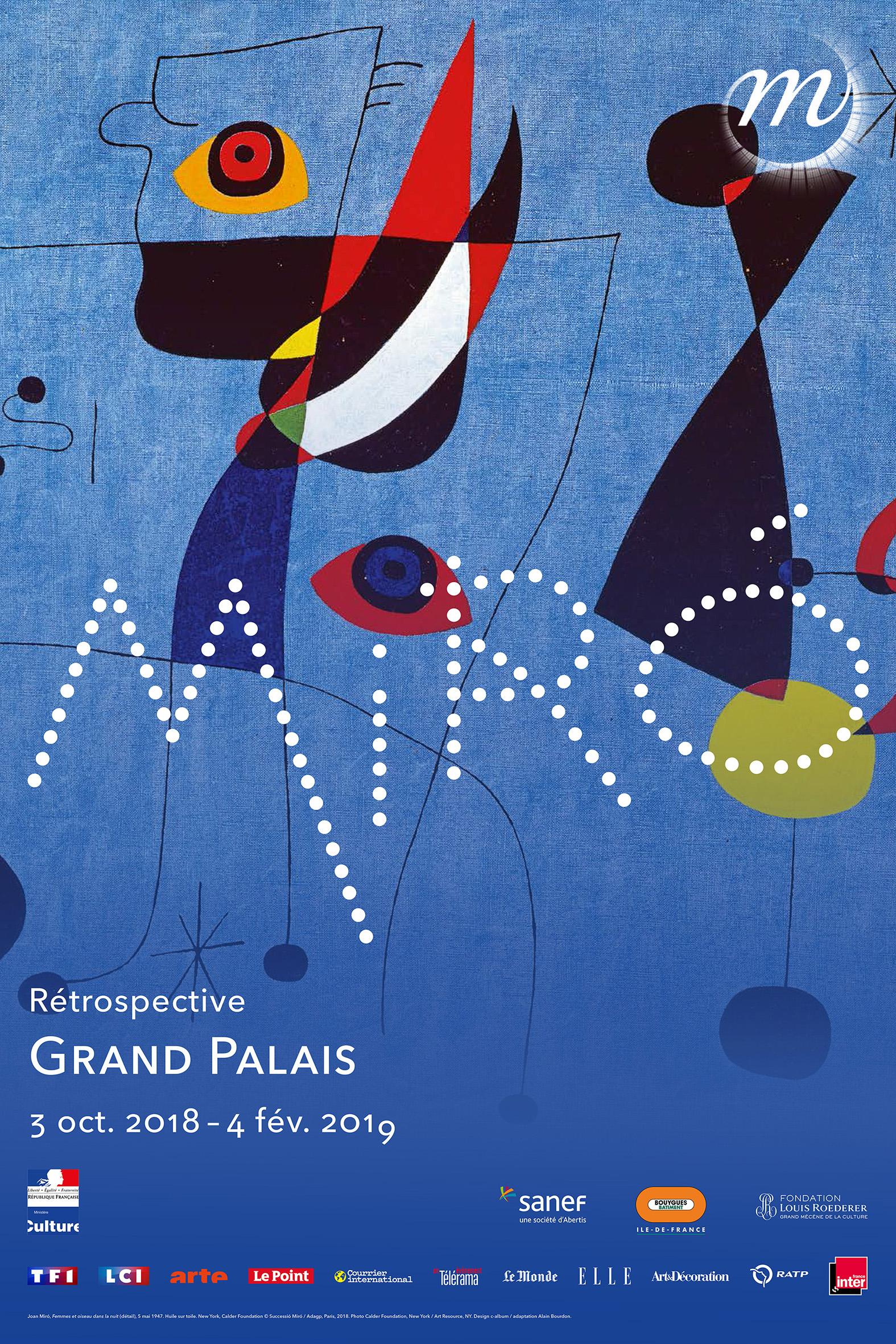 Miro Rétrospective Grand Palais © Successió Miró %252F Adagp%252C Paris 2018 Photo Calder Foundation%252C New York %252F Art Resource%252C NY Design c-album %252F adaptation Alain Bourdon
