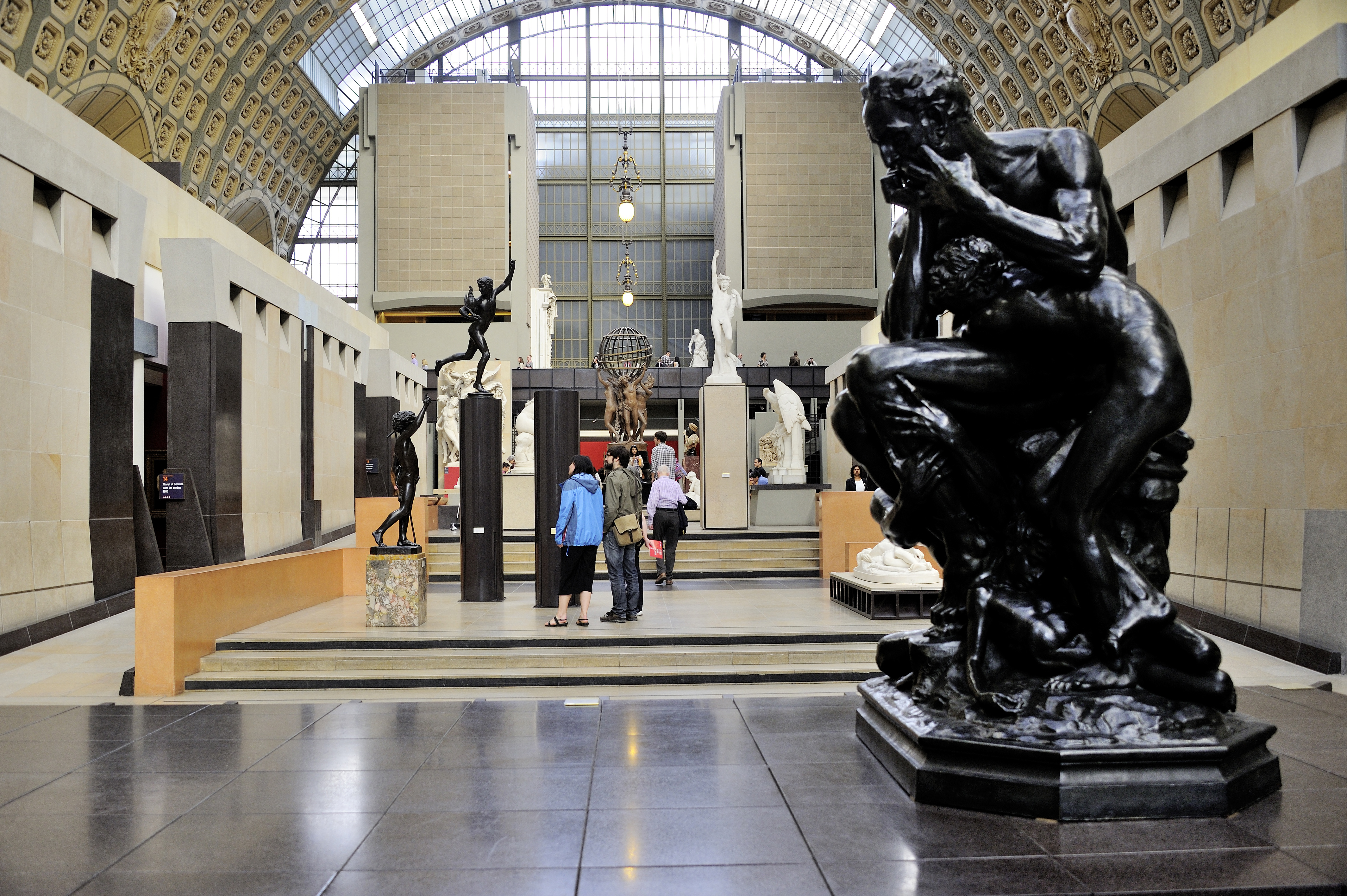 Musée d'Orsay%252C sculpture de Rodin en 1er plan%252C Paris 2015. Jarry-Tripelon %252F CRT Paris Ile-de-France
