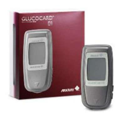 GLUCOCARD -01 MINI BLOOD GLUCOSE TEST METER