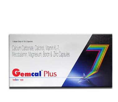 Gemcal Plus Soft Gelatin Capsule