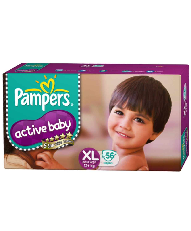 Pampers Active Baby Diaper XL