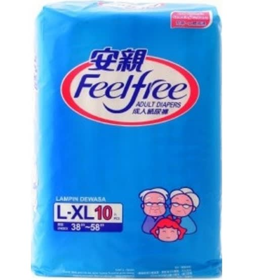 Feel Free Adult Diaper (Large-XL)