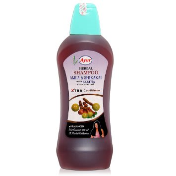 Ayur Herbal Amla Shikakai Shampoo