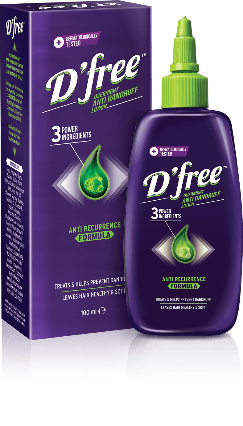 D Free  Anti Dandruff Lotion