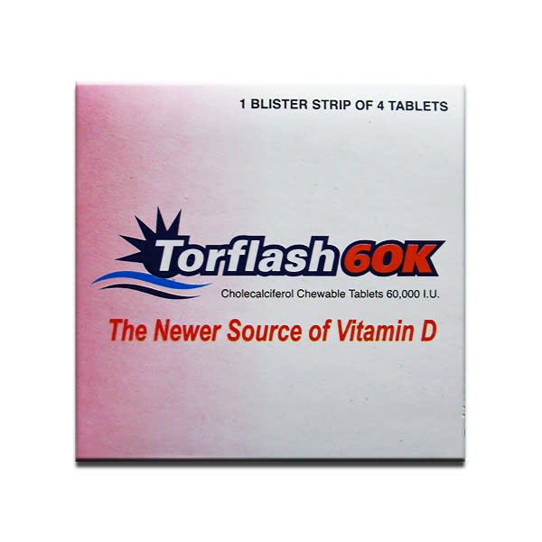 Torflash 60K Chewable Tablet