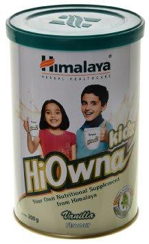 Himalaya Hiowna Kids Powder Vanilla