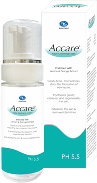 Accare Face Cleansing Foam