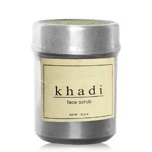 Khadi Naturals  Herbal Sandal Papaya Face Scrub