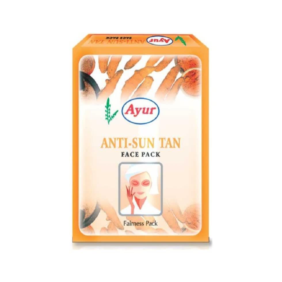 Ayur Anti Sun Tan Face Pack