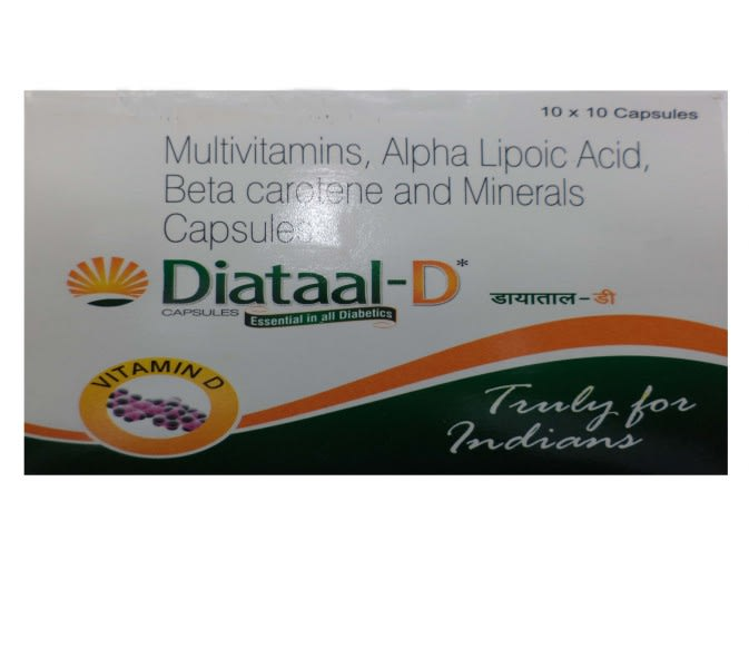 Diataal -D Capsule