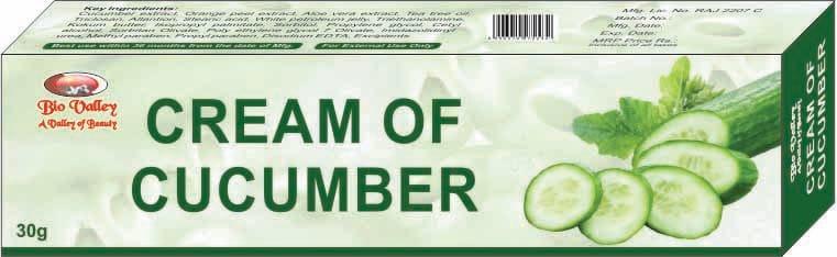 Bhargava Cream OF Cucumber