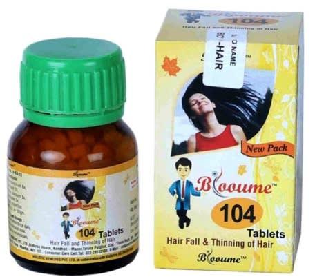 Bioforce Blooume 104 Bio Hair Tablet