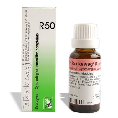Dr. Reckeweg R50 Gynaecologicals Sacroiliac Complaints Drop