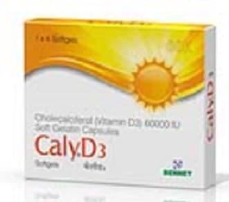 Caly D3 60K Capsule