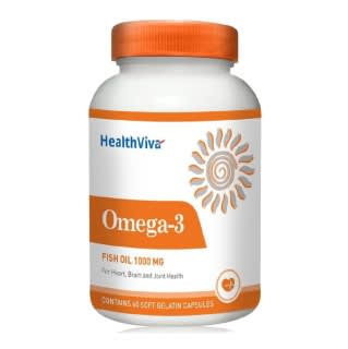 HealthViva Omega-3 Fish Oil 1000mg Capsule