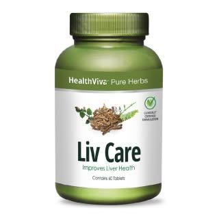 HealthViva Pure Herbs Liv Care Tablet