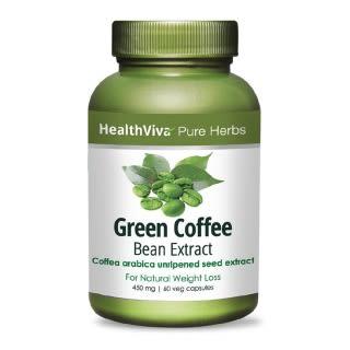 HealthViva Pure Herbs Green Coffee Extract Capsule