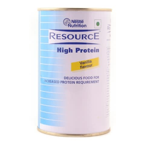 Nestle Resource  High Protein        Powder Vanilla