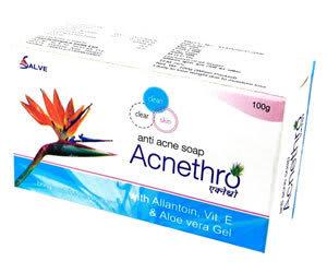 Acnethro  Soap