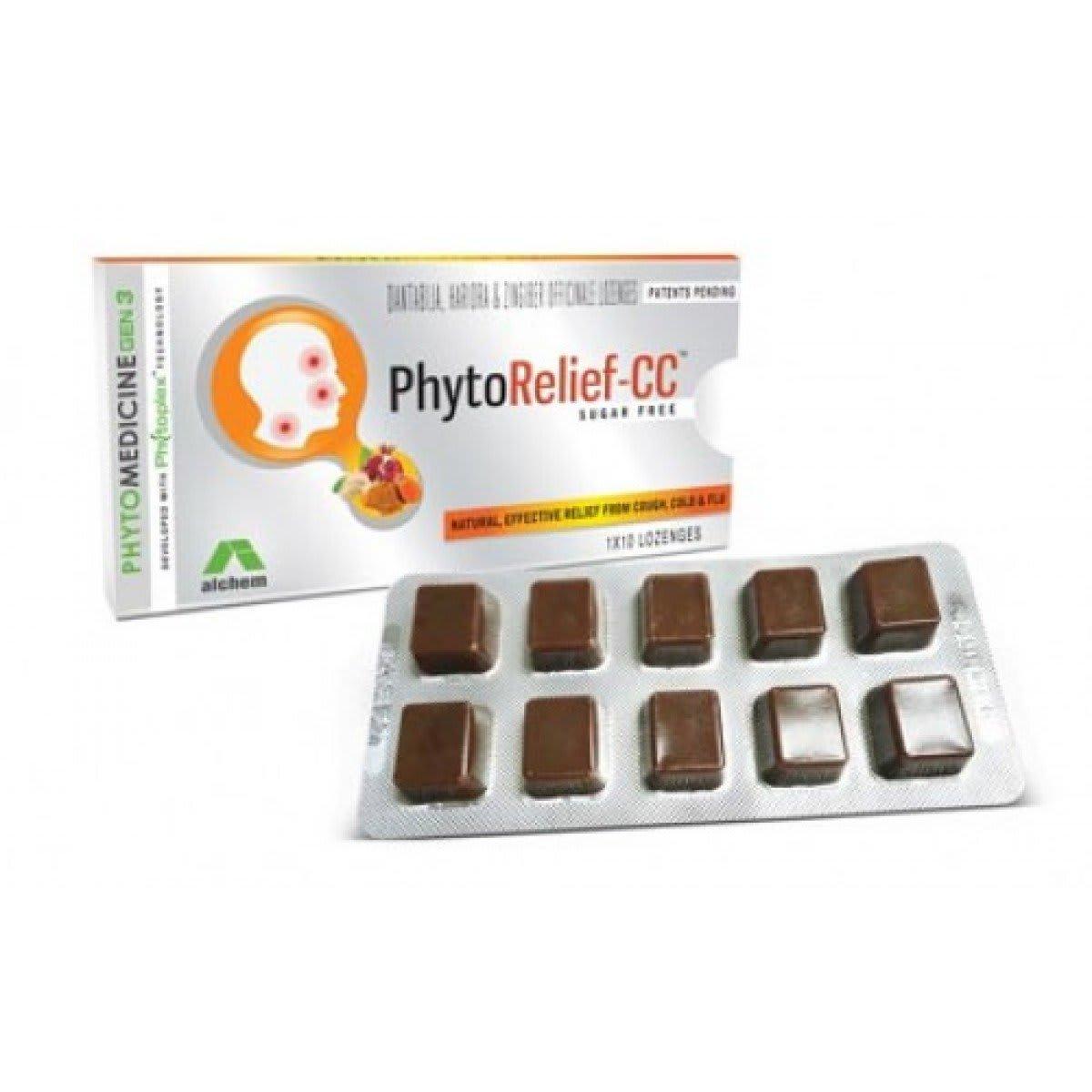 Phytorelief-CC Sugarfree Lozenges