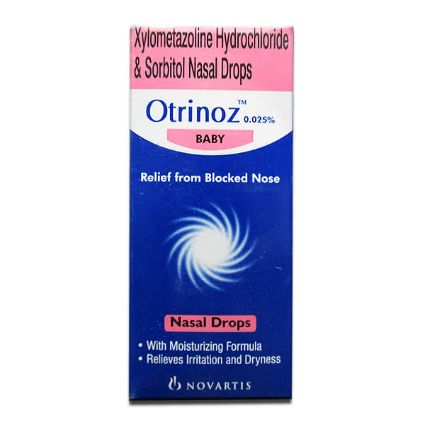 Otrinoz Baby 0.025% Nasal Drops