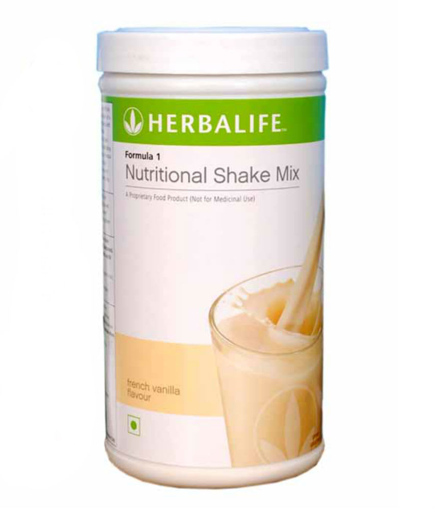 Herbalife Formula 1 Nutritional Shake Mix French Vanilla