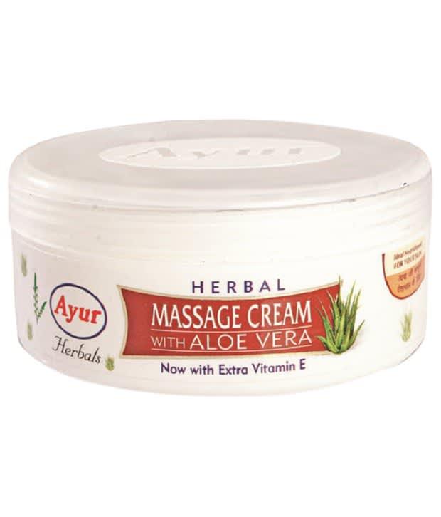 Ayur Herbal with Aloe Vera Massage Cream