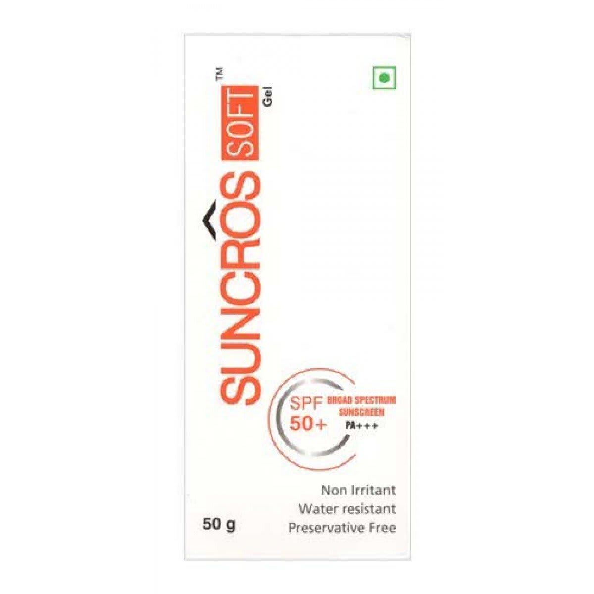 Suncros Soft Spf 50+ Gel