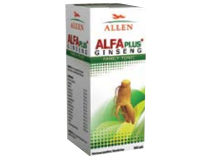 Allen Alfa Plus Ginseng Family Tonic