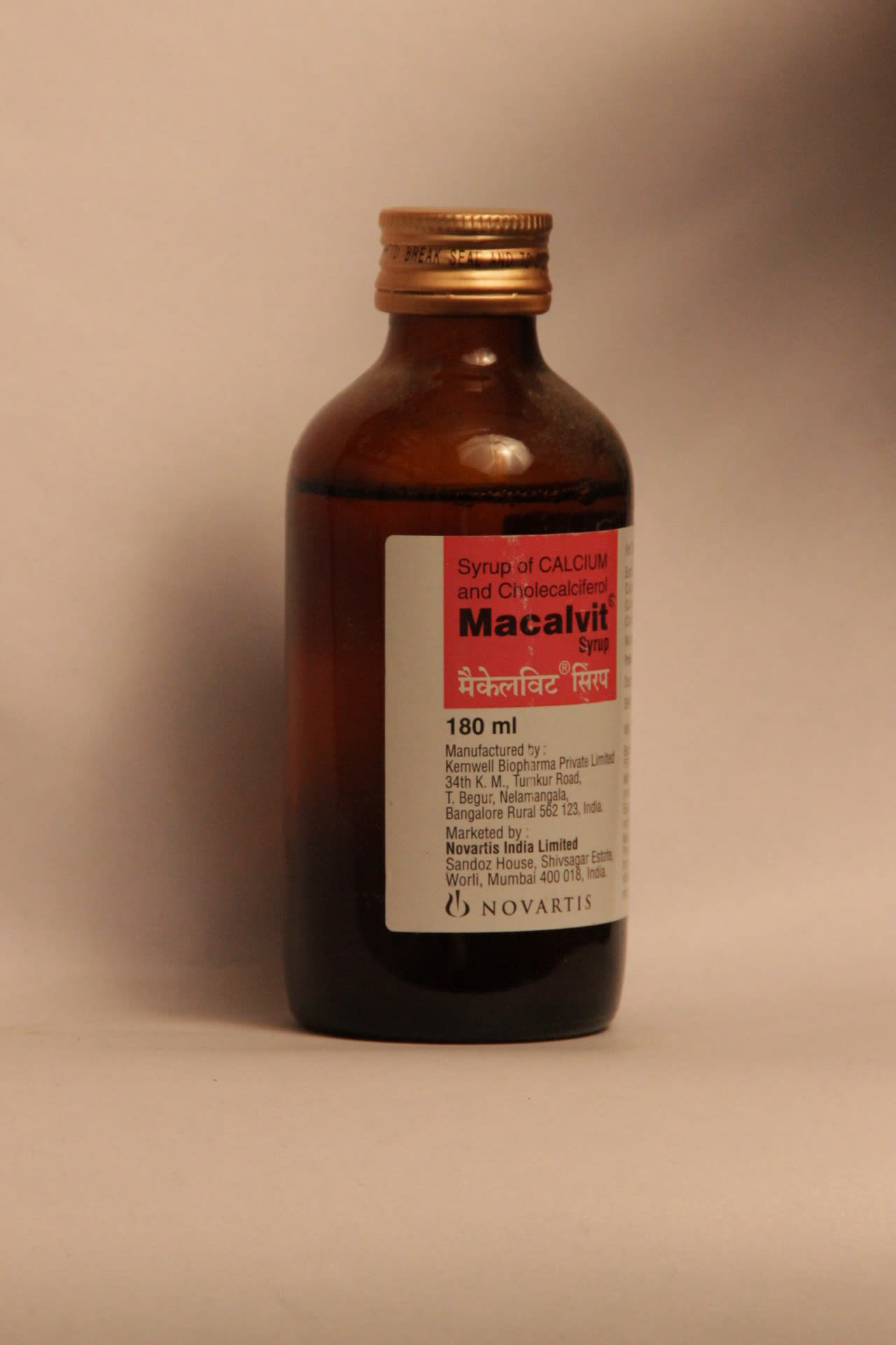 Macalvit Syrup