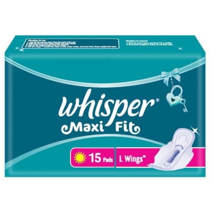 Whisper Maxi Fit L Wings Pads