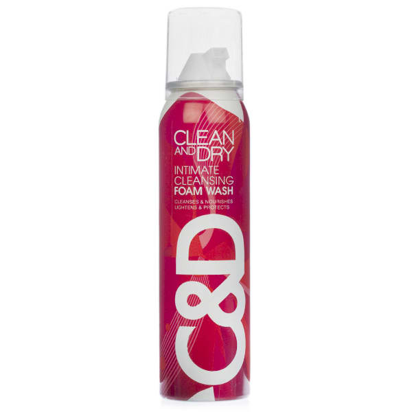 Clean & Dry Intimate Cleansing Foam Wash