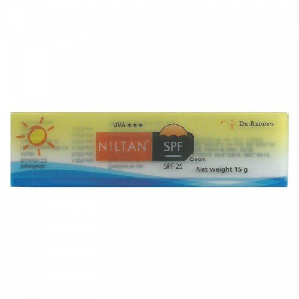 Niltan Spf   Cream