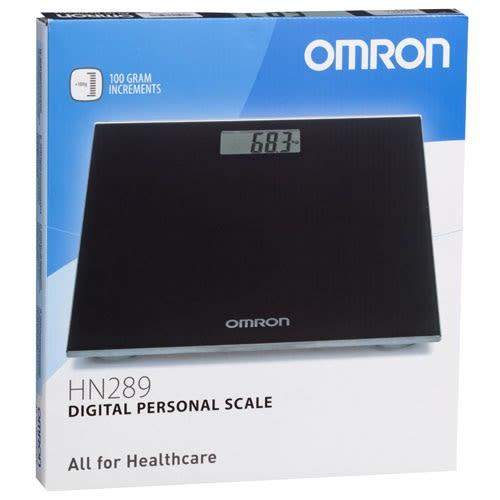 Omron HN-289 EB Weighing Scale Black