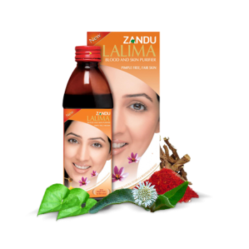 Zandu Lalima Blood Purifier Syrup