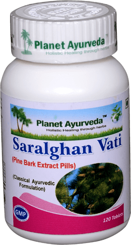 Planet Ayurveda  Saralghan Vati