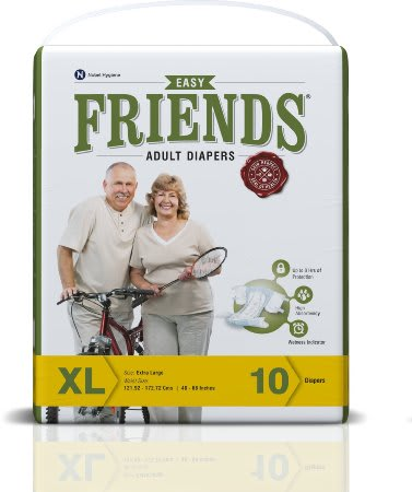 Friends Easy Adult Diaper XL