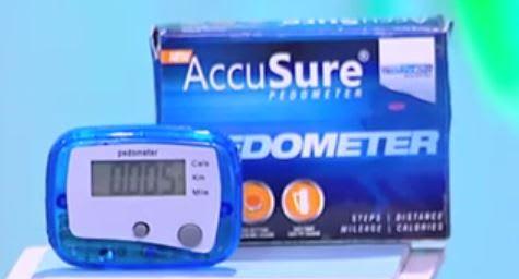 Dr. Gene Accusure Pedometer