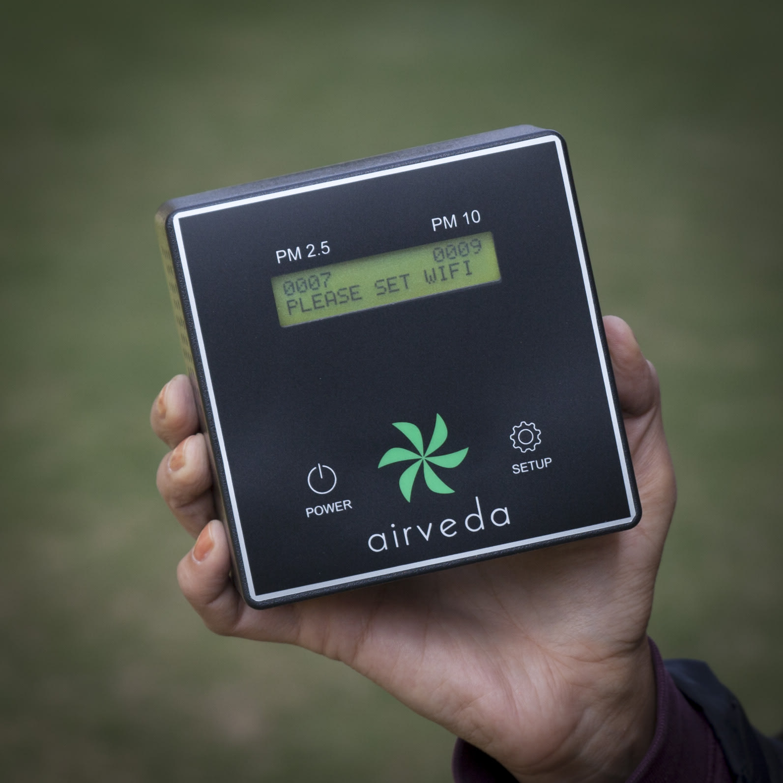 Airveda PM2.5, PM10 Air Quality Monitor