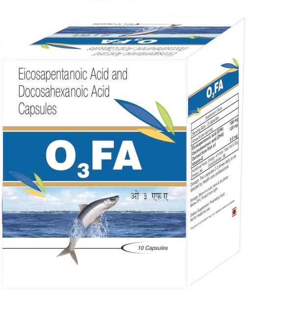O3FA Soft Gelatin Capsule