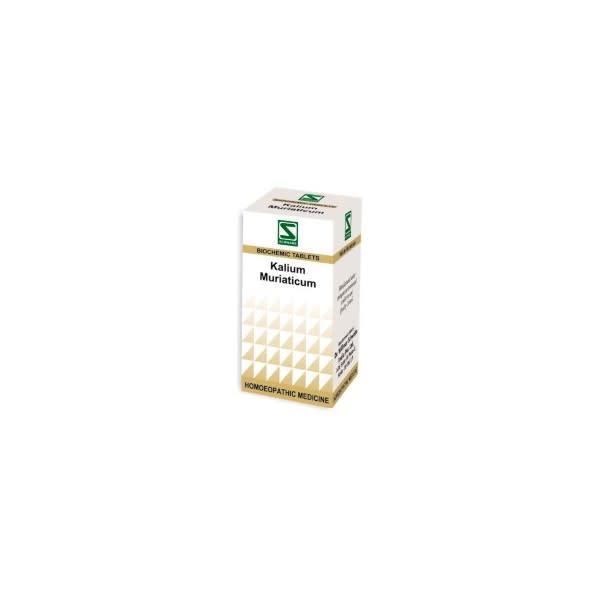 Dr Willmar Schwabe Kalium Muriaticum Biochemic Tablet 12X