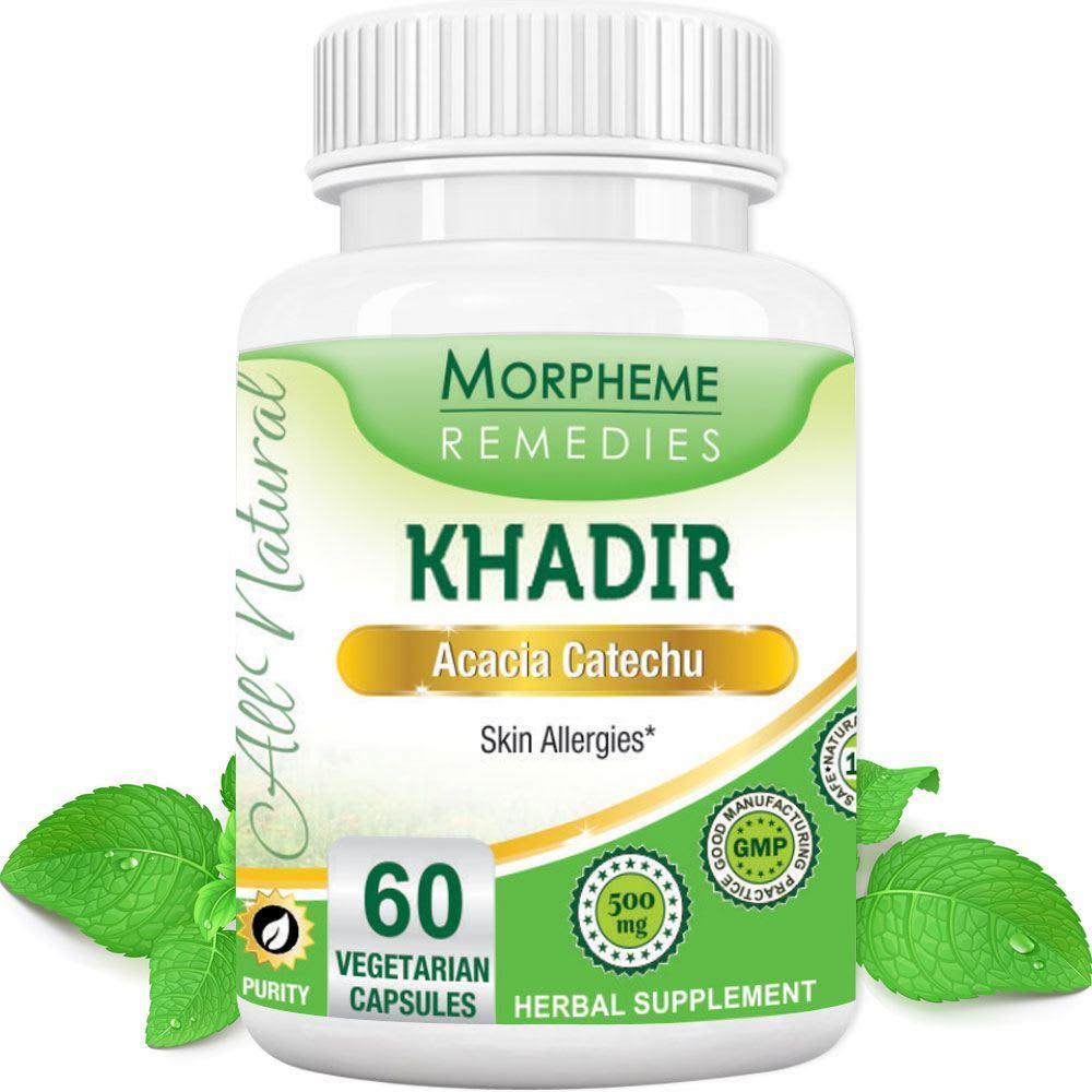 Morpheme Khadir  Capsule