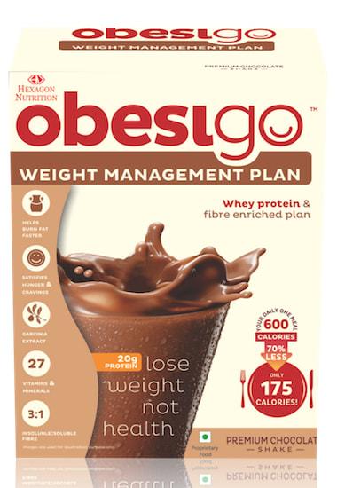 Obesigo Blcd 50gm Sachet Chocolate